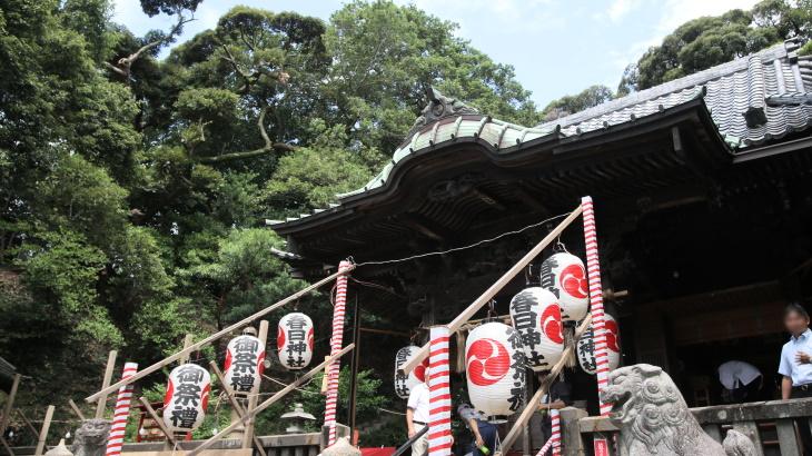 この夏の締めくくりに日野・春日神社の例大祭